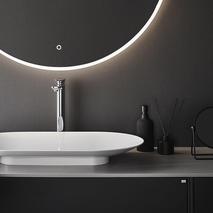 Trendigt badrum